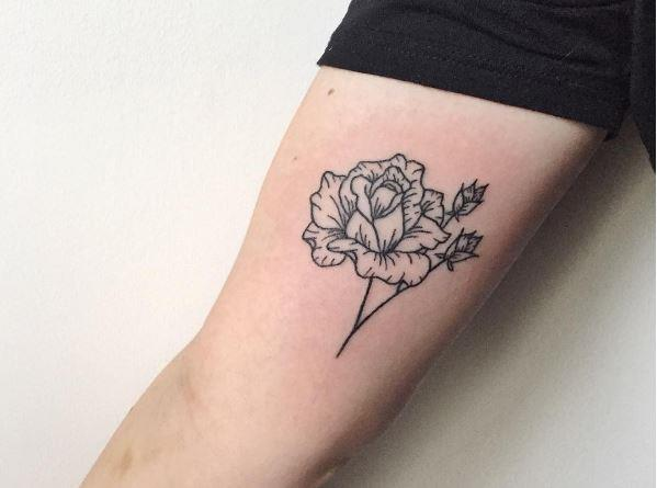 <p> <strong>SCORPIO</strong><p> <P> You're guided by your abundance of passion — if your feelings aren't going to be strong, what's the point? A rose tattoo is emblematic of your many desires. You also get real deep about stuff with no problem, so something that tends toward a darker, more intense vibe works for you too. And, it would make sense for you to get your tattoo around your thigh or hip.
