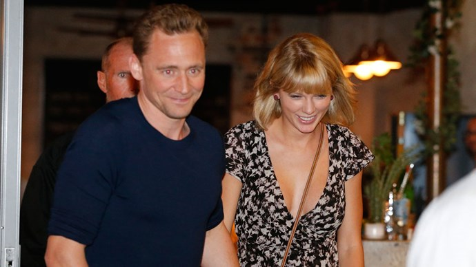 Tom Hiddleston and Taylor Swift on the Gold Coast