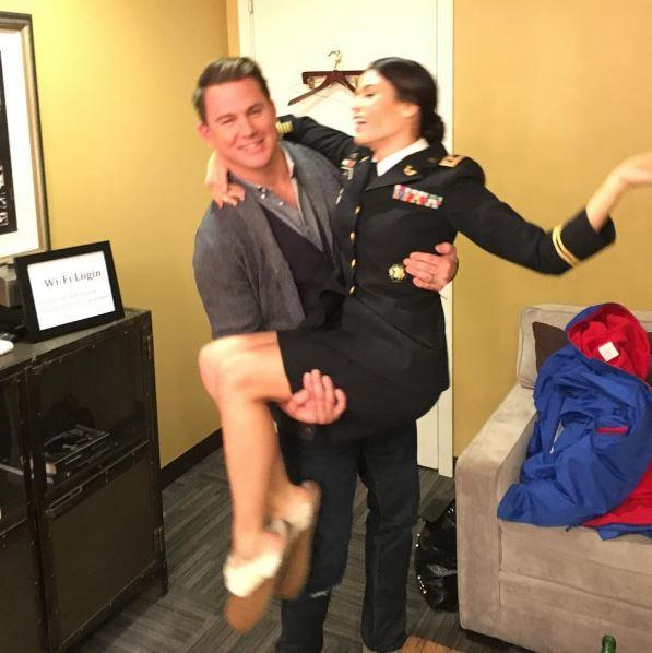 """jennaldewan: """"What does Lucy Lane do on her lunch breaks? Visit @channingtatum and @theellenshow of course!"""""""