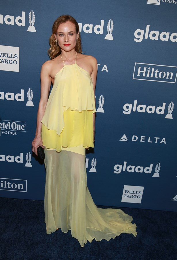 In Prabal Gurung at the GLAAD Awards.