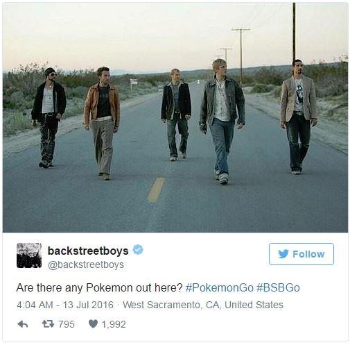The Backstreet Boys.