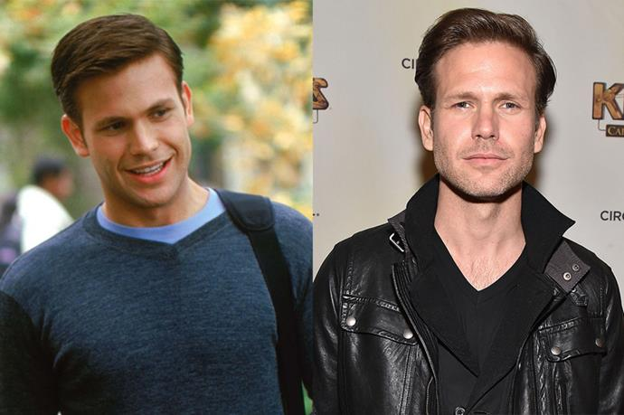 Matthew Davis as Warner.