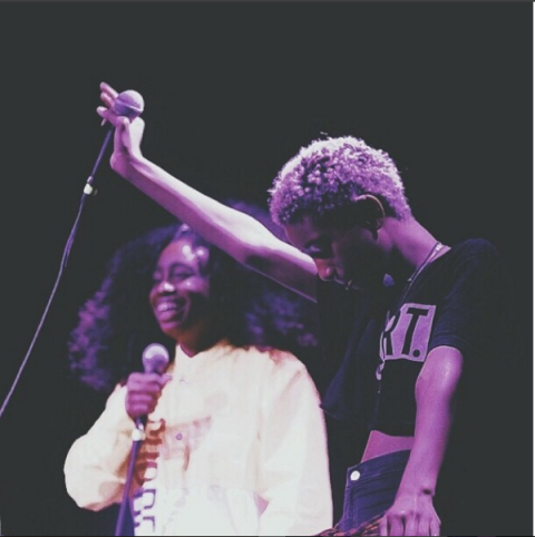 """<strong>WILLOW SMITH'S FIRST INSTAGRAM</strong><br><br> This photo shows the 15-year-old rocking on stage with singer Sza about two years ago.<br><br> Credit: <a href=""""https://www.instagram.com/willowsmith/?hl=en"""">@willowsmith</a>"""
