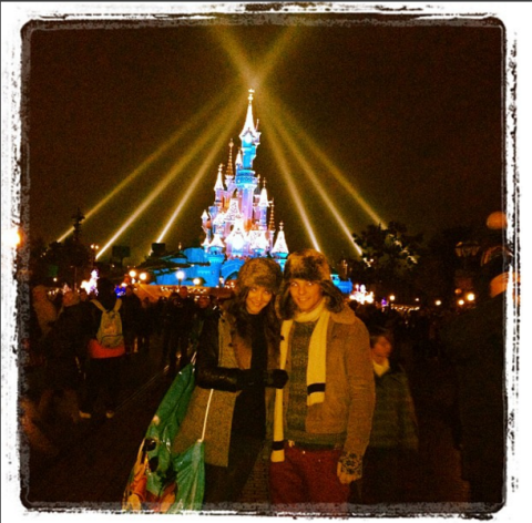 """<strong>LOUIS TOMLINSON'S FIRST INSTAGRAM</strong><br><br> Louis chose this cute pic snuggling up in front of the Magic Kingdom with his then-girlfriend Eleanor Calder back in 2012.<br><br> Credit: <a href=""""https://www.instagram.com/louist91/?hl=en"""">@louist91</a>"""