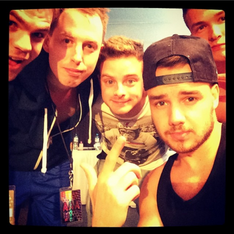 """<strong>LIAM PAYNE'S FIRST INSTAGRAM</strong><br><br> Liam, who joined Instagram much later than the rest of his 1D bandmates, posted this photo about two years ago with the caption, """"Da boyyyzzzzzZ.""""<br><br> Credit: <a href=""""https://www.instagram.com/fakeliampayne/?hl=en"""">@fakeliampayne</a>"""