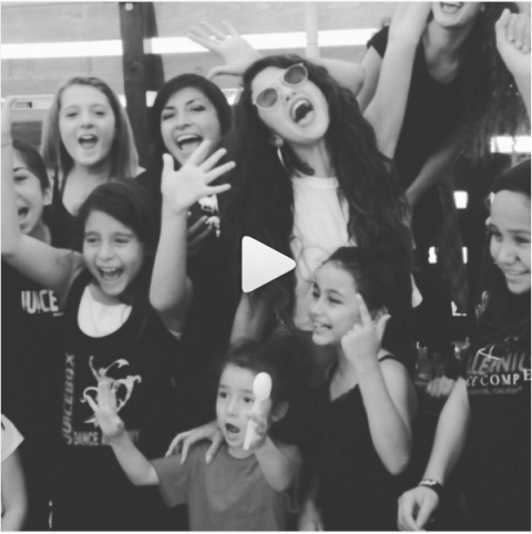 """<strong>SELENA GOMEZ'S FIRST INSTAGRAM</strong><br><br> Selena's first Instagram post was a video from about three years ago, teasing fans about the release of her album, <em>Stars Dance</em>. The cute video features dancers of all sizes, including the little ones seen above, and some fierce dance moves.<br><br> Credit: <a href=""""https://www.instagram.com/selenagomez/?hl=en"""">@selenagomez</a>"""