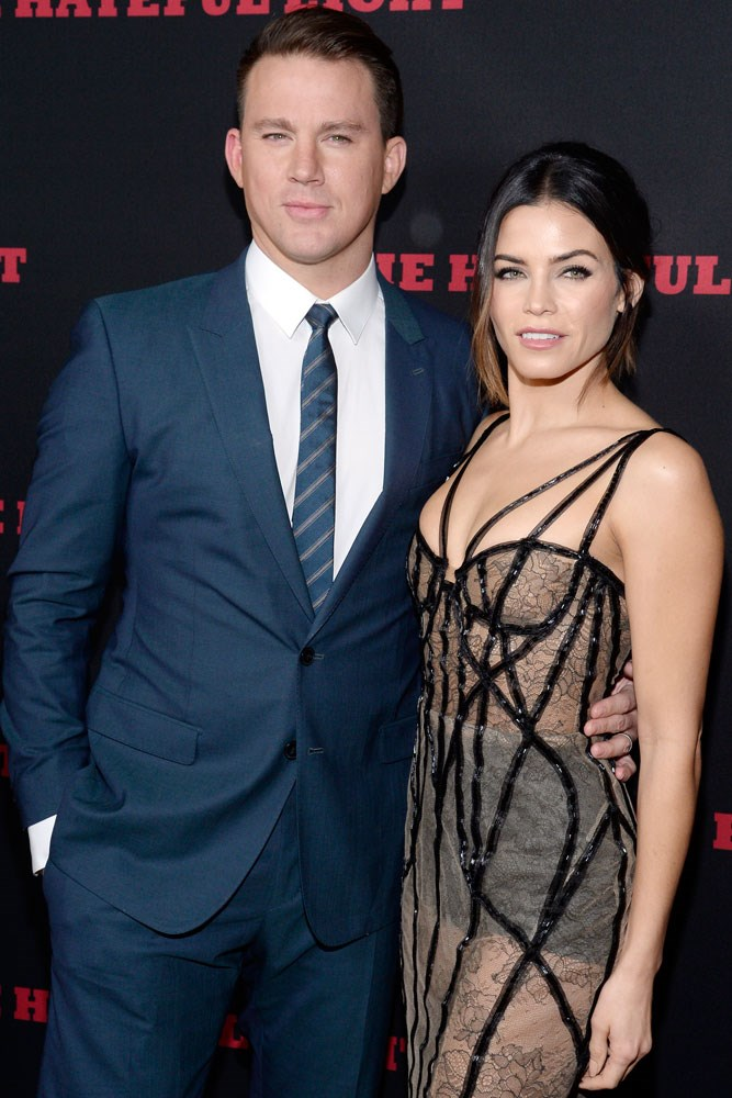 **Channing Tatum and Jenna Dewan Tatum**  The two met in 2006 while filming dance flick *Step Up*, and married in 2009. Daughter Everly Tatum was born in May 2013.