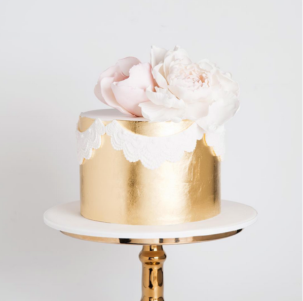 "<p> GOLD LEAF<p> <p> Cakes can be flashy, too, you know. Add a bit of gold (or silver... or bronze) leaf to take things to the next level.<p> <p> <a href=""https://www.cakeink.com.au/"">Cake Ink</a>."