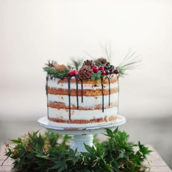 "<p> GET NAKED<p> <p> The concept of the naked cake is simple: strip away all the unnecessary fondant, icing and toppings to get the perfect mix of simple and rustic. Yes please.<p> <p> <a href=""https://www.instagram.com/ericaobriencake/"">Erica O'Brien Cakes</a>."
