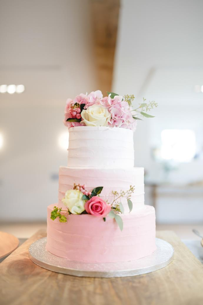 """<p> OMBRÉ<p> <p> Why pick one colour when you can pick two, with all the sweetest shades in between?<p> <p> <a href=""""http://www.rockmywedding.co.uk/priscilla-john/"""">Rock My Wedding</a>."""