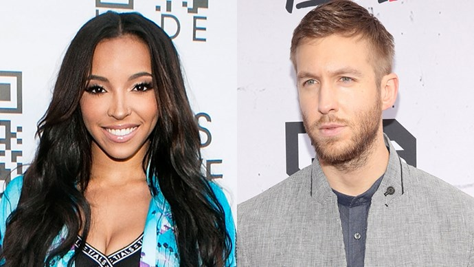 Calvin Harris and Tinashe.