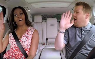 Michelle Obama will appear on 'The Late Late Show's' Carpool Karaoke segment.