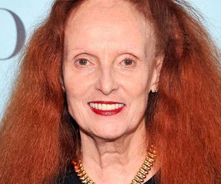 Grace Coddington at a Tiffany & Co. event in New York