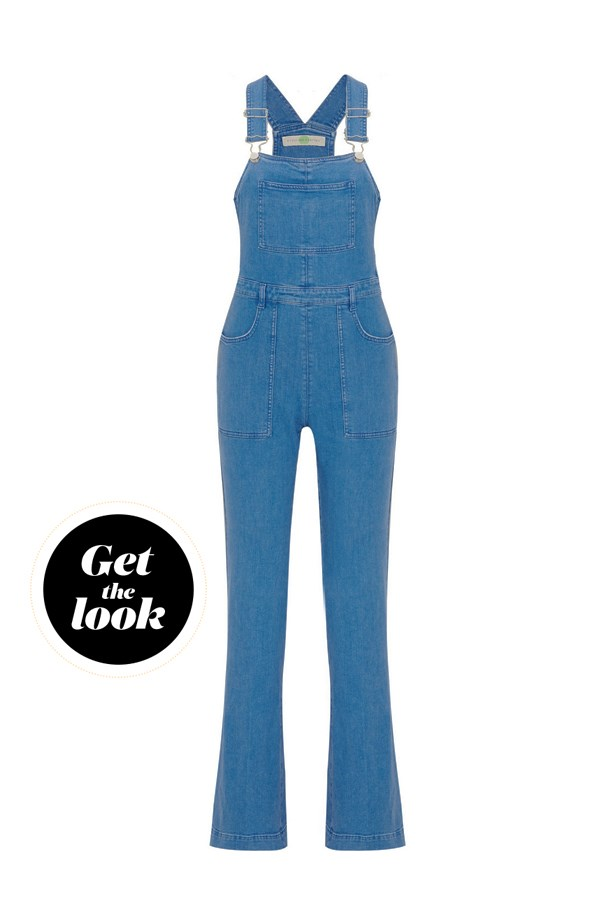 "Overalls, $970, <a href=""https://www.net-a-porter.com/au/en/product/645549/Stella_McCartney/stretch-denim-overalls"">Stella McCartney at net-a-porter.com</a>."
