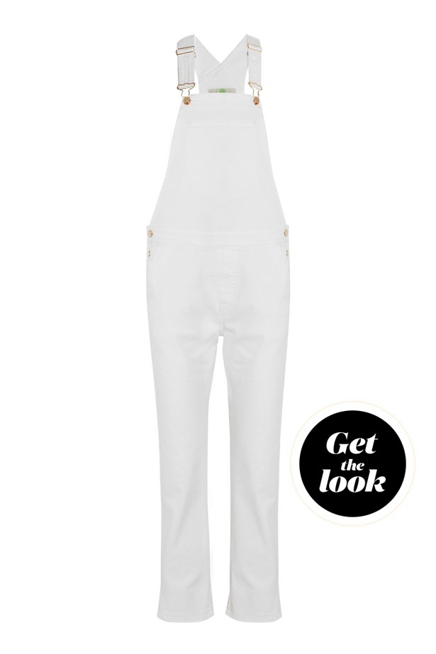"Overalls, $970, <a href=""https://www.net-a-porter.com/au/en/product/686010/Stella_McCartney/stretch-denim-overalls"">Stella McCartney at net-a-porter.com</a>."