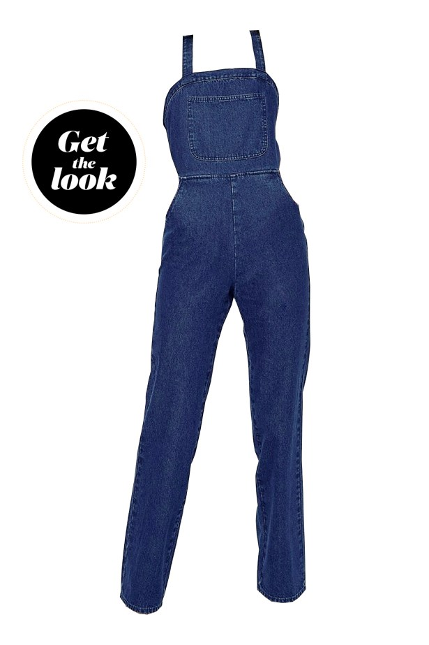 "Overalls, $91, <a href=""http://www.asos.com/au/ASOS-Tall/ASOS-TALL-Denim-Dungarees-In-Straight-Leg-With-Halter-Neck/Prod/pgeproduct.aspx?iid=6464412&cid=15167&sh=0&pge=0&pgesize=36&sort=-1&clr=Blue&totalstyles=76&gridsize=3"">ASOS</a>."