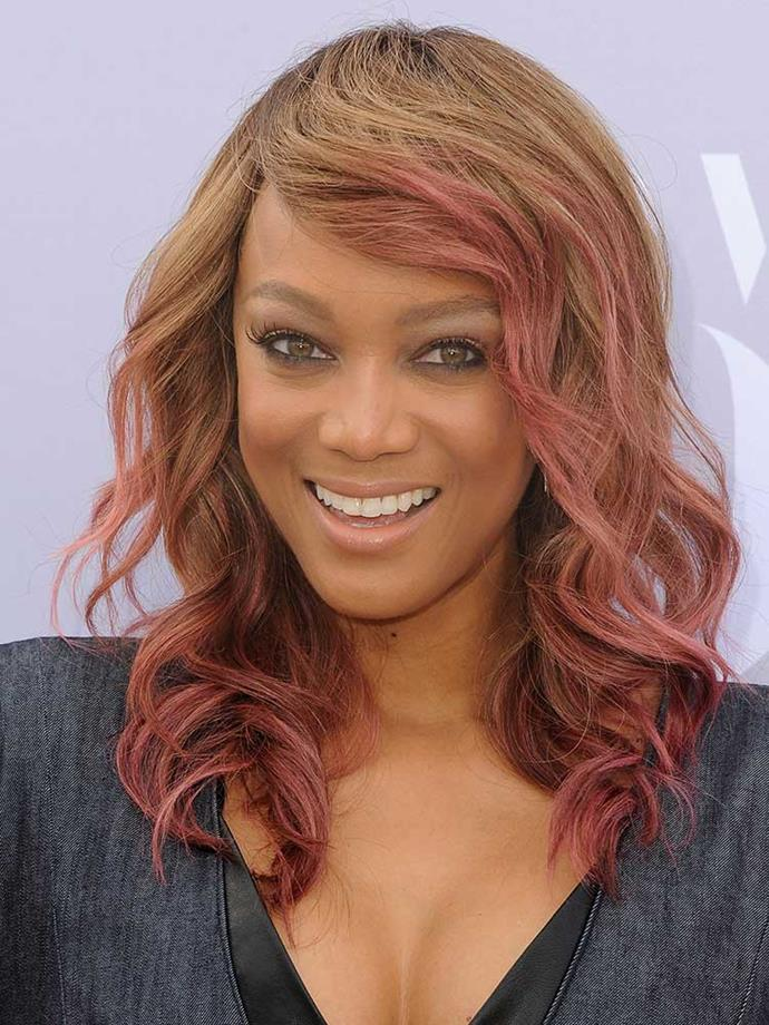 """</p><p>""""Take a shower? Or feed the baby?... I didn't shower or feed baby. Daddy fed him. I drank coffee. Now walking baby. No shower.""""<br><br> Tyra Banks on <a href=""""https://twitter.com/tyrabanks/status/713771979497603073"""">Twitter."""