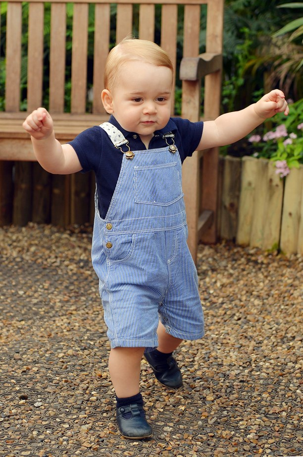 When his overalls game was lit.