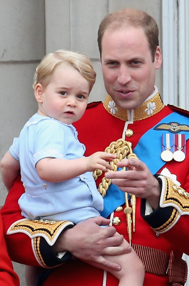 When he attended his first Trooping The Colour and smashed it.