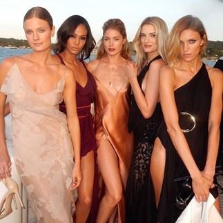models at the 2016 leonardo dicaprio foundation gala