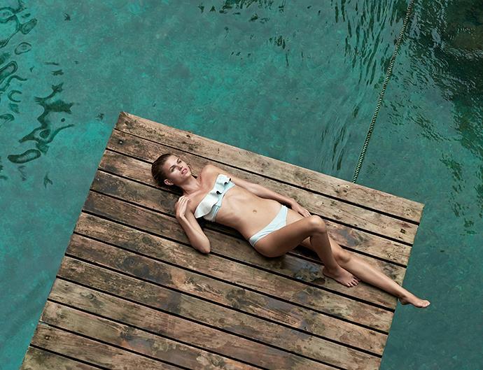 Model by pool.