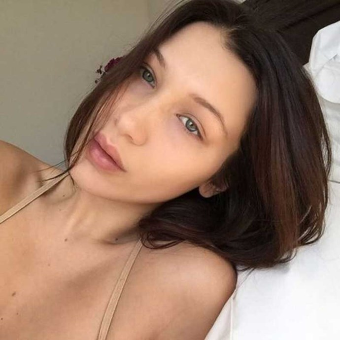 """</p><p>Bella Hadid<br><br> Instagtram: <a href=""""https://www.instagram.com/bellahadid/"""">@bellahadid</a>"""