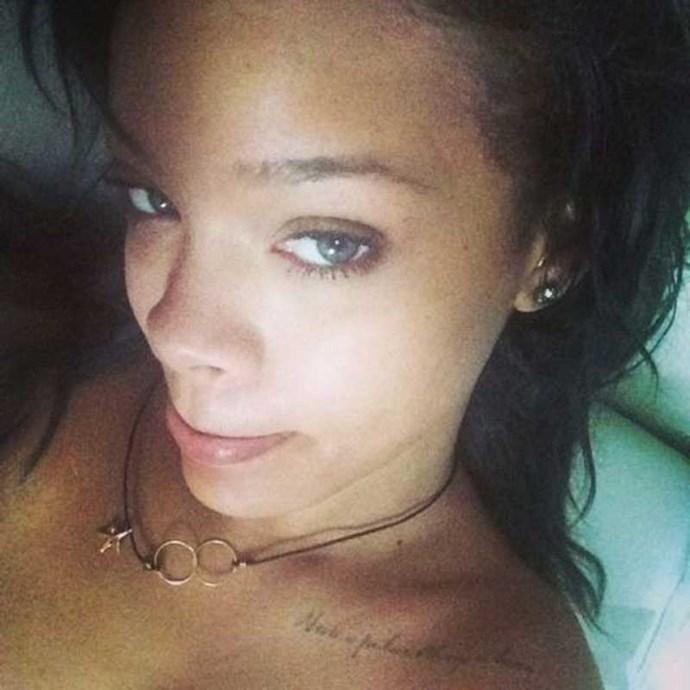 """</p><p>Rihanna<br><br>Instagram: <a href=""""https://www.instagram.com/badgalriri/"""">@badgalriri</a>"""