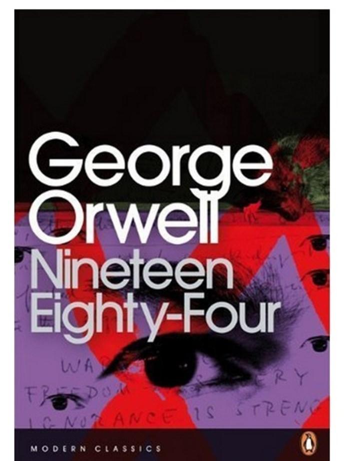 <em>1984</em> by George Orwell