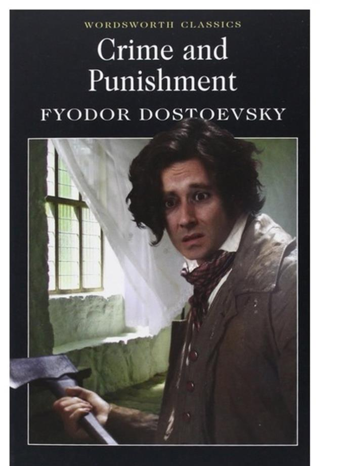 <em>Crime And Punishment</em> by Fyodor Dostoyevsky