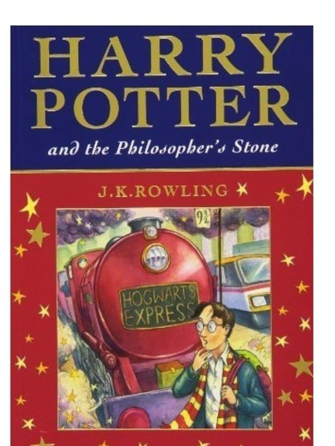 <em>Harry Potter</em> (series) by JK Rowling