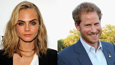 Cara Delevingne Just Casually Flirted With Prince Harry Over Text