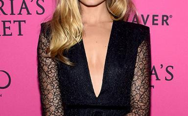 Australian Victoria's Secret Model Bridget Malcolm Marries In Custom LOVER