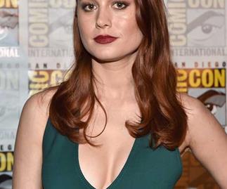 Brie Larson at the 2016 San Diego Comic Con