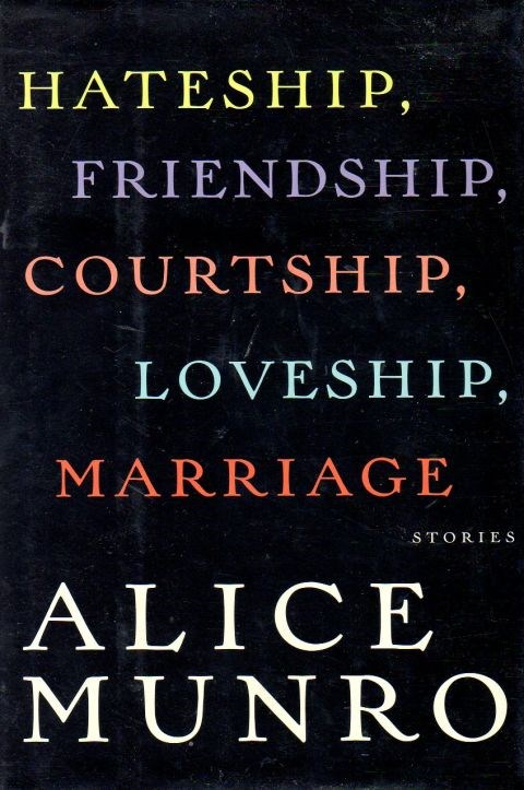 This collection is about aging and love and marriage and life itself. You will be changed for the better by reading Alice Munro.