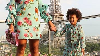Beyoncé And Blue Ivy's Matching Mother-Daughter Style Is A Gift To Mankind