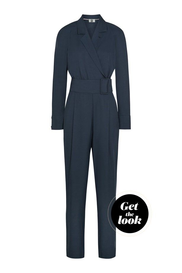 "Jumpsuit, $201, Topshop Unique at <a href=""https://www.net-a-porter.com/au/en/product/649845/Topshop_Unique/coterill-twill-jumpsuit-"">net-a-porter.com</a>."