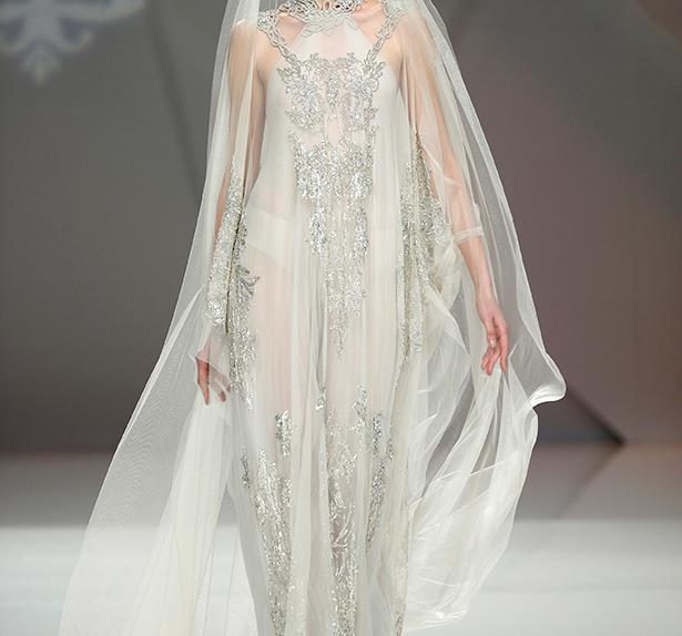 Bridal trends.