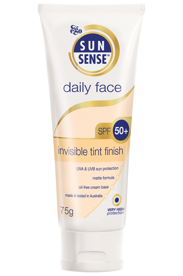 """<p><strong>Daily Face SPF 50 Invisible Tint, $14.99, Sunsense, priceline.com.au</strong></p> <p>""""Anyone who's familiar with my beauty routine (friends, curious strangers, the girl at Priceline…) knows sunscreen is a non-negotiable. This one's the best cheapie out there – SPF 50+, a matte finish, and none of that white residue typically left by most pharmacy-brand sunscreens."""" - Jen Kang, Acting Deputy Sub Editor</p>"""