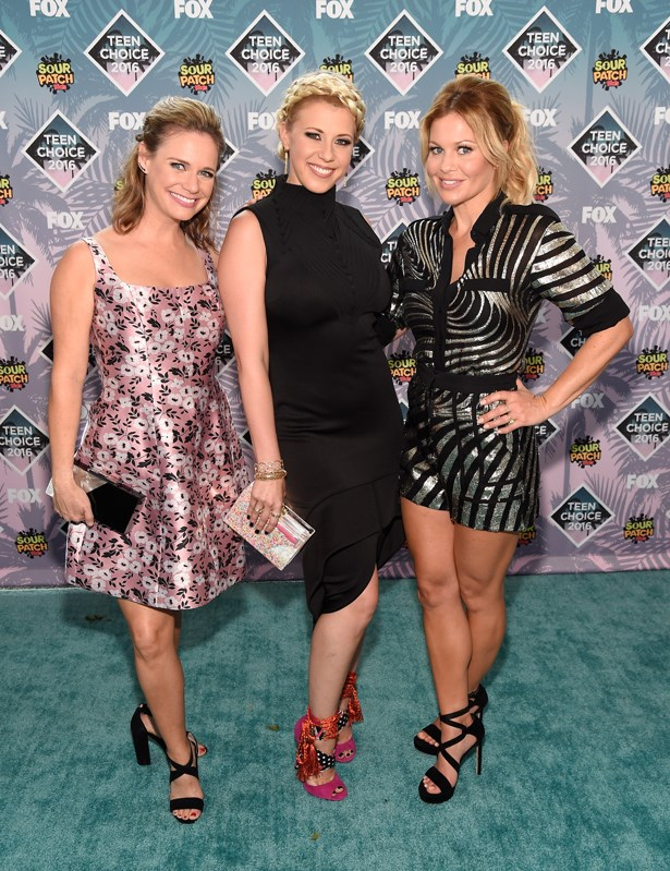 Andrea Barber, Jodie Sweetin and Candace Cameron-Bure