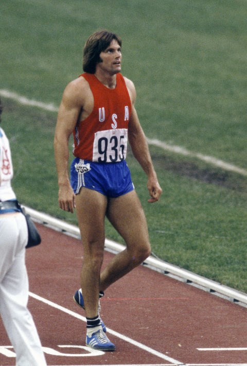 <p> <strong>1976</strong><p> <p> Bruce Jenner's claim to fame at the 1,500 meter run of the decathlon during the games in Montreal, Quebec.