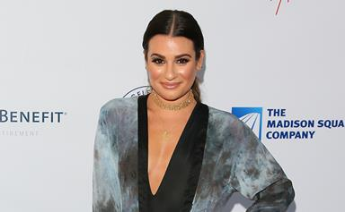 "Lea Michele Reveals Her ""Finn"" Tattoo In Honour Of Cory Monteith"