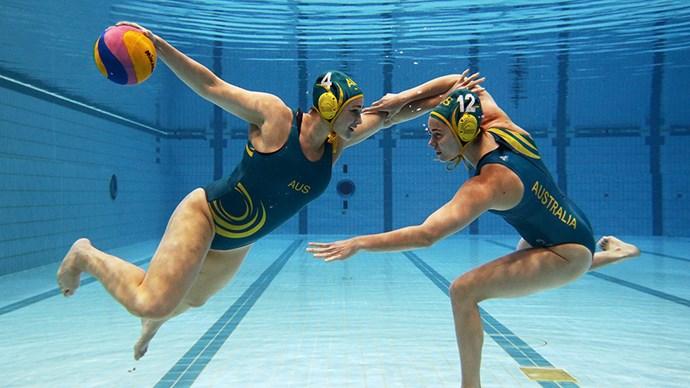 Australian Water Polo team.