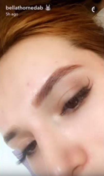 That's a great-looking brow.