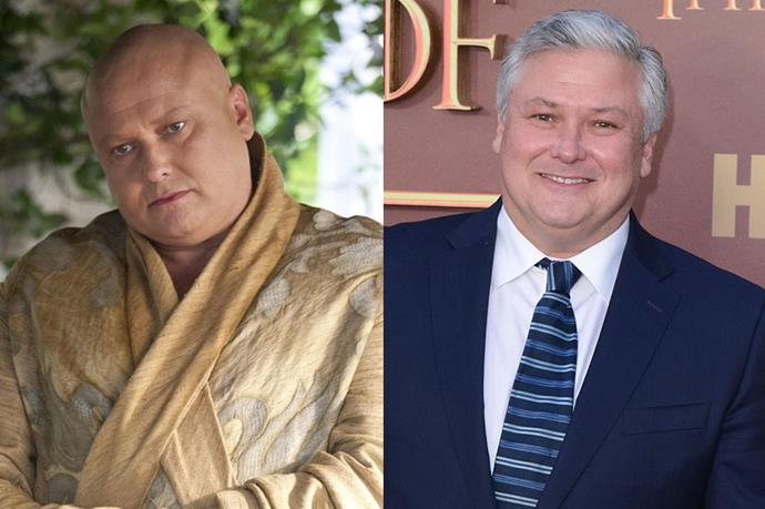 Conleth Hill as Varys.