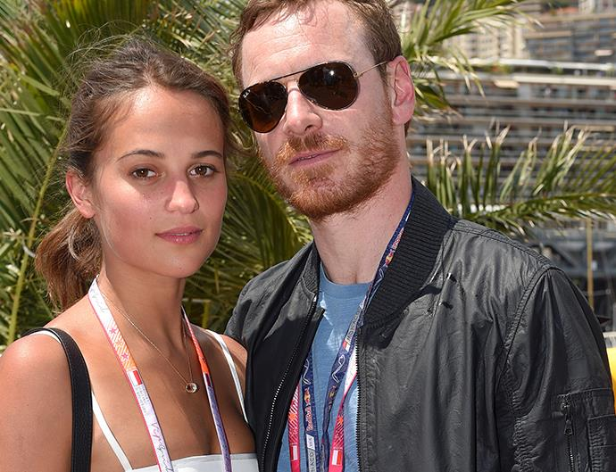 Michael Fassbender and Alicia Vikander.
