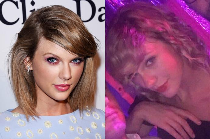<p> <strong>Taylor Swift</strong></p> <p>At a Nelly concert last night (there's a sentence we'd never thought we'd write) Taylor Swift brought back her earl 2000s Country era ringlets. To great effect, might we add.</p>