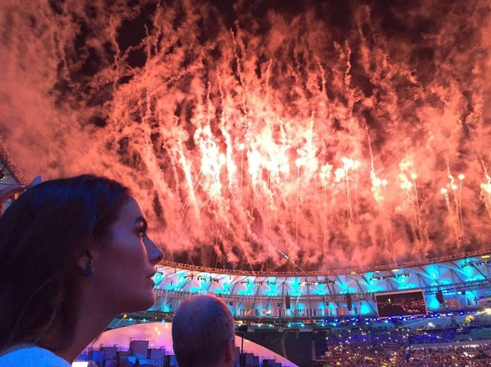 instagram camilla belle rio olympic opening ceremony