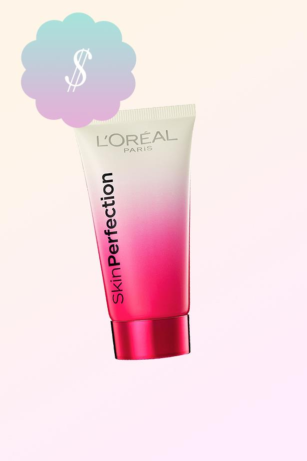"Skin Perfection BB Cream, $10, <a href=""https://www.target.com.au/p/l-oreal-skin-perfection-bb-cream-light-5-ml/56468090"">L'Oreal at target.com.au</a>."