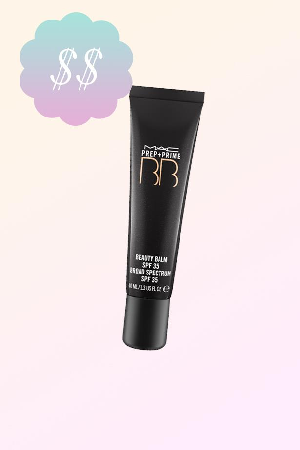 "Prep + Prime BB Beauty Balm, $44, <a href=""http://www.maccosmetics.com.au/product/14771/17377/Products/Skincare/BB-CC/Prep-Prime-BB-Beauty-Balm-SPF-35#/shade/Light"">MAC</a>."