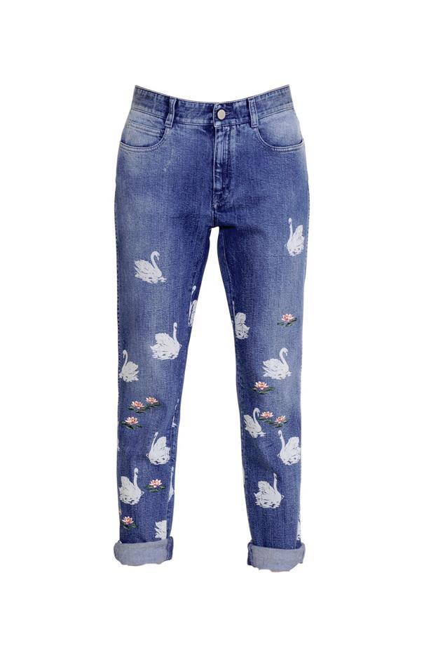 """Jeans, $960, <a href=""""http://www.luisaviaroma.com/stella+mccartney/women/jeans/64I-AAE016/lang_EN/colorid_NDExMA2"""">Stella McCartney at luisaviaroma.com</a>."""